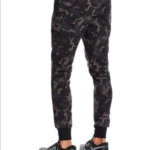 Nike tech fleece pant camo grey/black